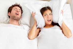 snoring disturbs wife in mckinney tx